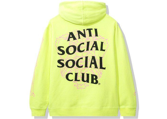 "ANTI SOCIAL SOCIAL CLUB - Moletom Car Underwater ""Verde Neon"" -NOVO-"
