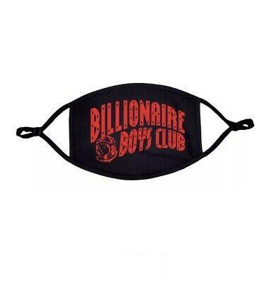 "!BILLIONAIRE BOYS CLUB - Máscara Curve Logo ""Preto/Vermelho"" -NOVO-"