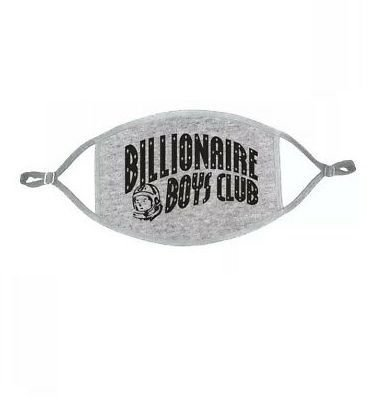 """BILLIONAIRE BOYS CLUB - Máscara Curve Logo """"Cinza"""" -NOVO-"""