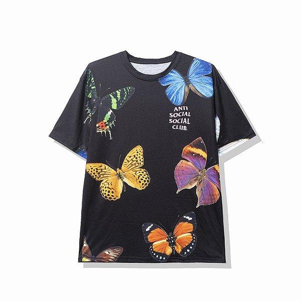 "ANTI SOCIAL SOCIAL CLUB - Camiseta Ashton ""Preto"" -NOVO-"