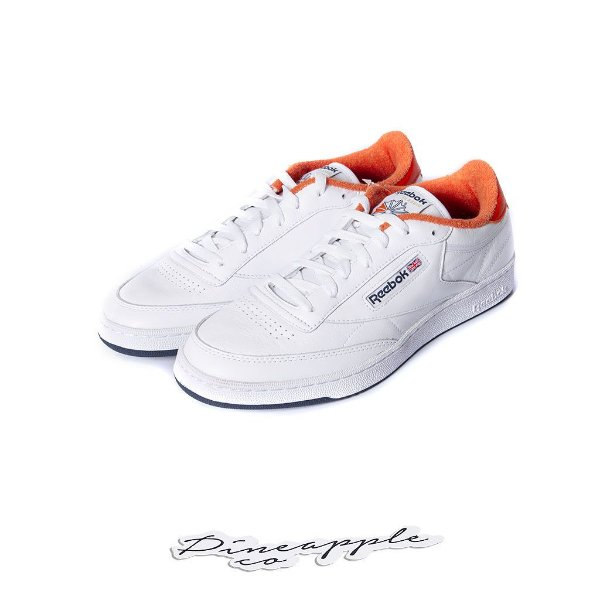 "REEBOK x ERIC EMANUEL - Club C 85 ""Energy Orange"" -NOVO-"
