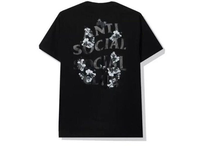 "ANTI SOCIAL SOCIAL CLUB - Camiseta Dramatic ""Preto"" -NOVO-"