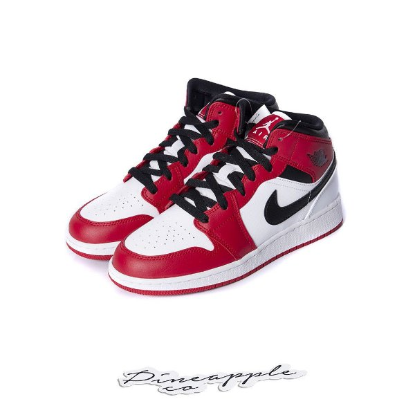 "NIKE - Air Jordan 1 Mid GS ""Chicago"" -NOVO-"