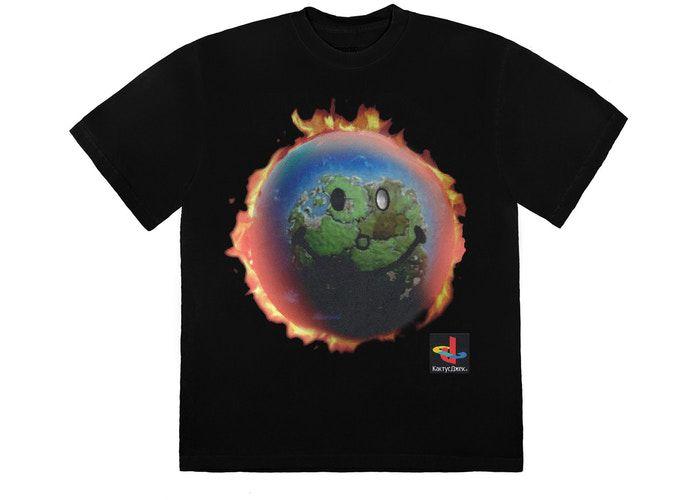 """TRAVIS SCOTT - Camiseta The Scotts World """"Preto"""" -NOVO-"""