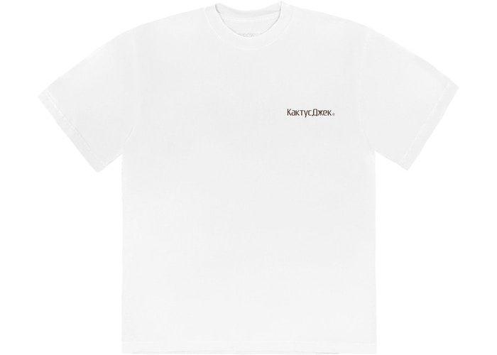 "TRAVIS SCOTT - Camiseta The Scotts Rage Emote ""Branco"" -NOVO-"