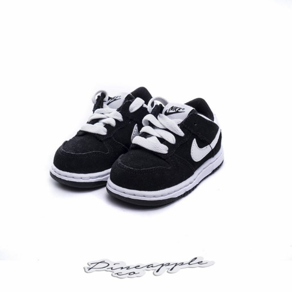 "NIKE - Dunk Low ""Black"" (Infantil) -NOVO-"