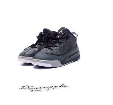 "NIKE - Air Jordan Dub-Zero TD ""Black"" (Infantil) -USADO-"