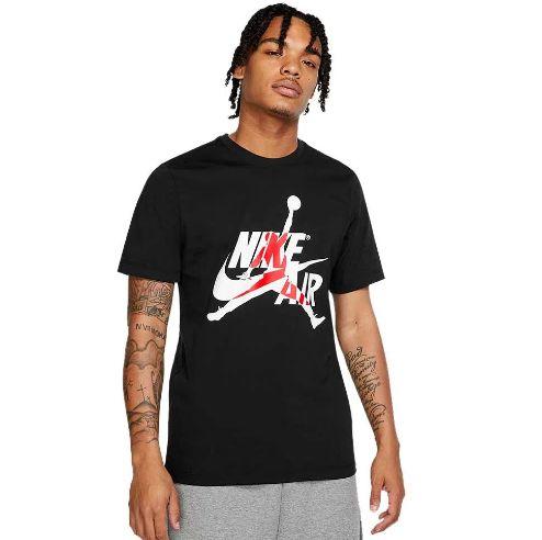 "NIKE - Camiseta Jordan Classics ""Preto"" -NOVO-"