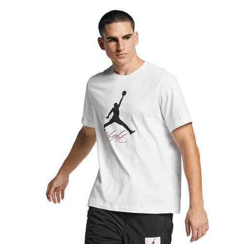 "NIKE - Camiseta Jordan Jumpman Flight ""Branco"" -NOVO-"