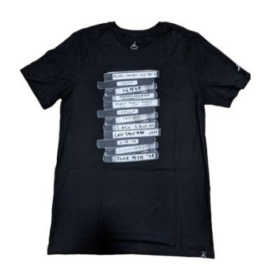 "NIKE - Camiseta Jordan Last Shot ""Preto"" -NOVO-"
