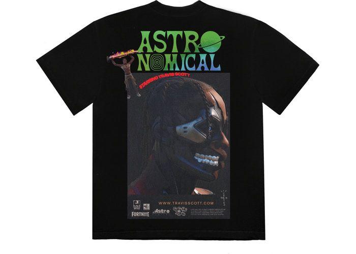 """TRAVIS SCOTT - Camiseta The Scotts Sicko Event II """"Preto"""" -NOVO-"""