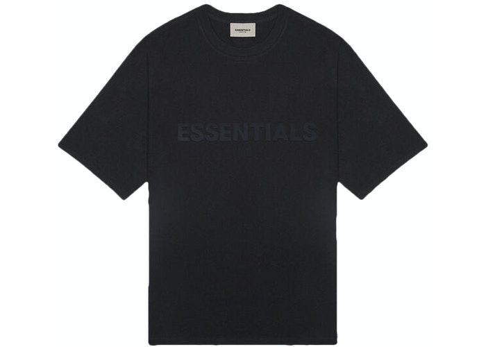 "!FOG - Camiseta Essentials 3D Silicon Applique ""Preto"" -NOVO-"