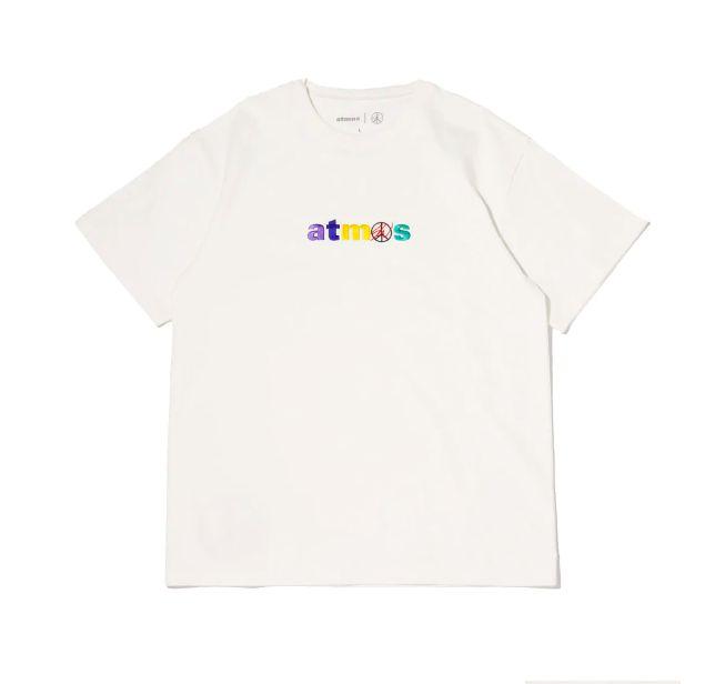 """ATMOS x SEAN WOTHERSPOON - Camiseta Embroidered """"Branco"""" -NOVO-"""
