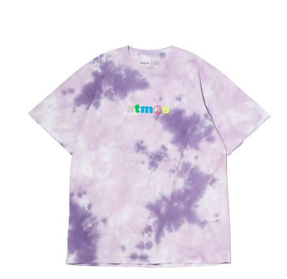 """ATMOS x SEAN WOTHERSPOON - Camiseta Tie Dye """"Roxo"""" -NOVO-"""
