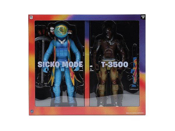 "!TRAVIS SCOTT x FORTNITE - Bonecos Cactus Jack 12"" Action Figure Duo Set -NOVO-"