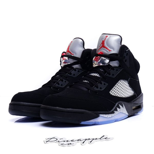 "NIKE - Air Jordan 5 Retro ""Black Metallic"" (2016) -NOVO-"
