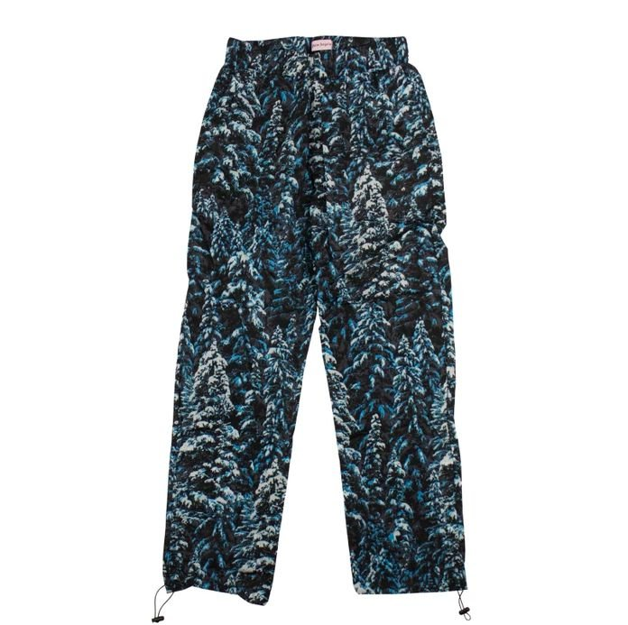 "PALM ANGELS - Calça Pine Camouflage After-Sport ""Azul"" -USADO-"