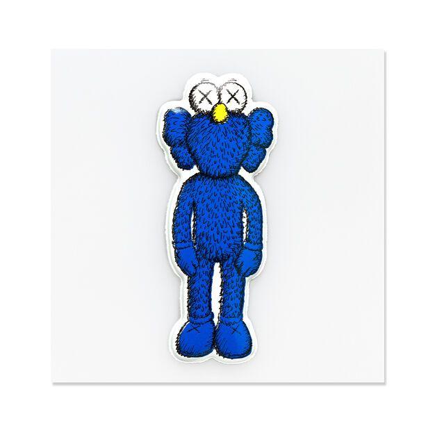 "!KAWS - Adesivo Puff BFF ""Azul"" -NOVO-"