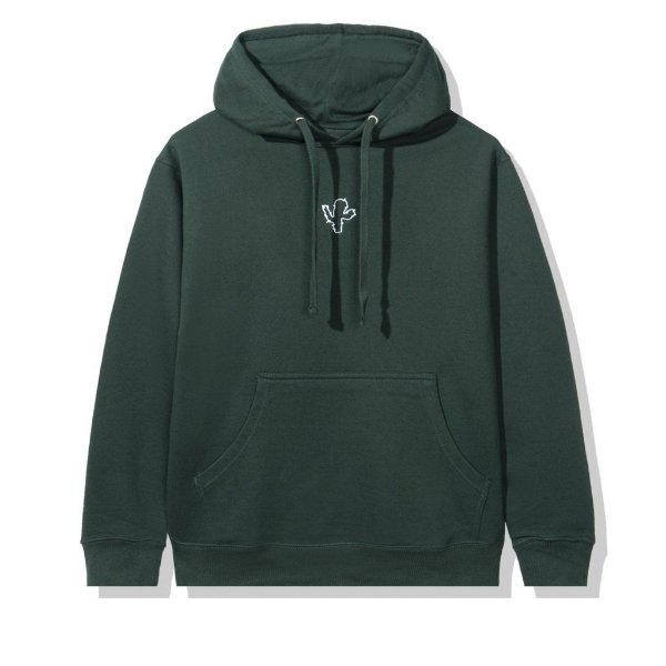 "!ANTI SOCIAL SOCIAL CLUB x CPFM - Moletom Logo ""Verde"" -NOVO-"