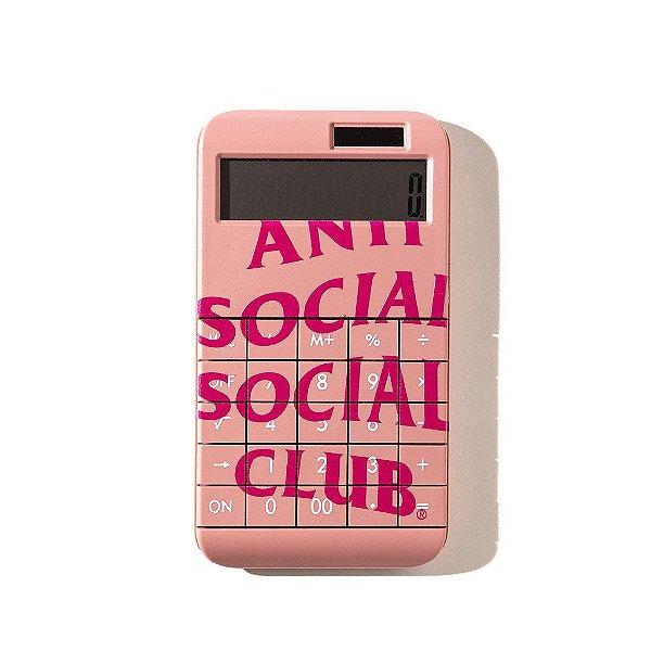 """!ANTI SOCIAL SOCIAL CLUB - Calculadora 7734 """"Rosa"""" -NOVO-"""