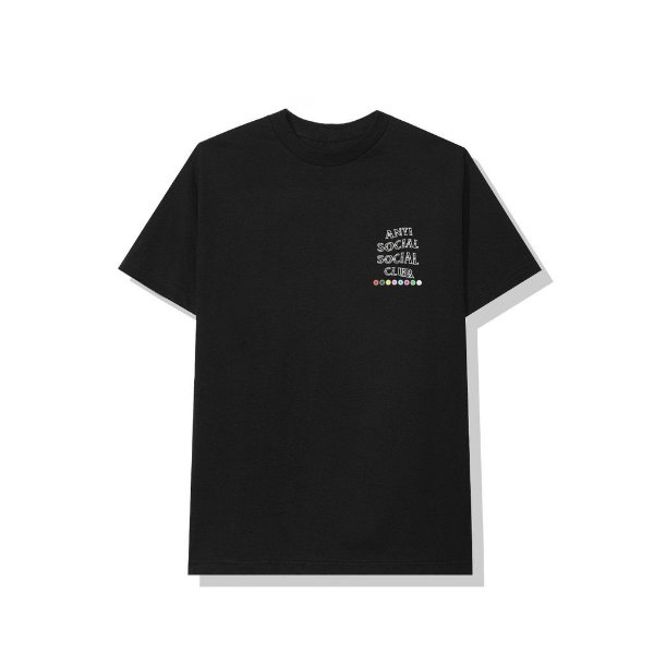 "ANTI SOCIAL SOCIAL CLUB - Camiseta Up To You ""Preto"" -NOVO-"