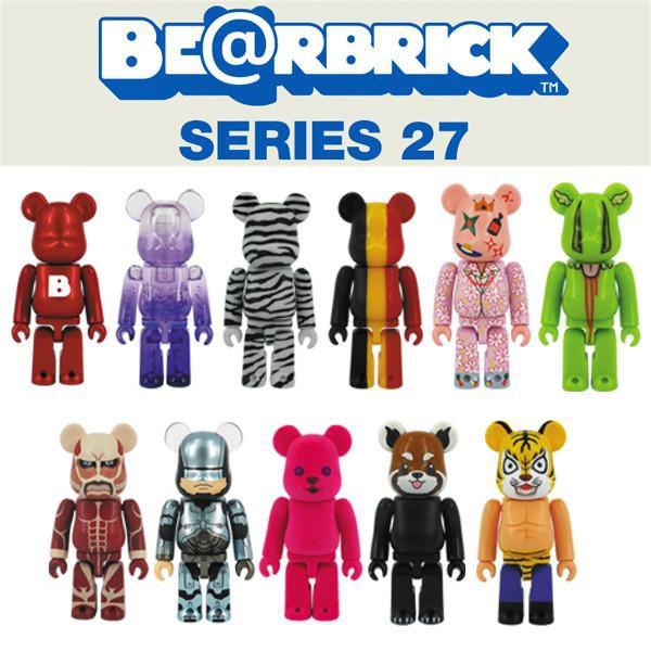 MEDICOM TOY - Boneco Bearbrick Series 27 Blind Box -NOVO-