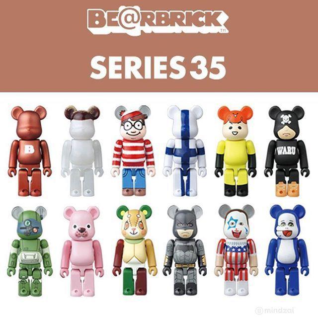 !BEARBRICK - Boneco Series 35 Blind Box -NOVO-