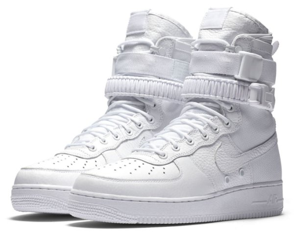 """NIKE - Air Force 1 Special Field """"Triple White"""" -NOVO-"""