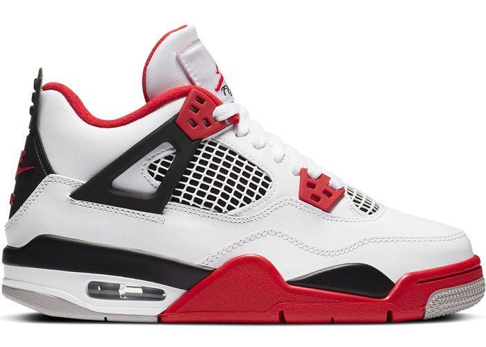 """!NIKE - Air Jordan 4 Retro GS """"Fire Red"""" -NOVO-"""