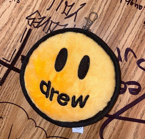 "DREW HOUSE - Chaveiro Mascot Plush ""Amarelo"" -NOVO-"