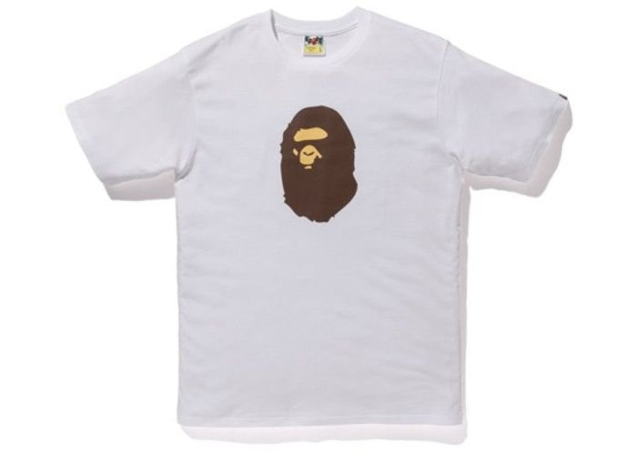 "!BAPE - Camiseta Summer Bag Ape Head ""Branco"" -NOVO-"
