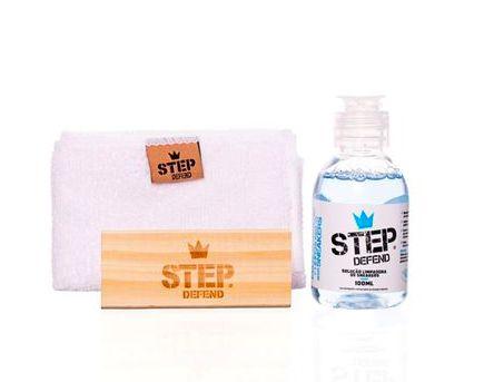 STEP DEFEND - Caixa de Limpeza de Tênis -NOVO-