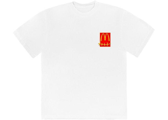 "TRAVIS SCOTT x MCDONALD'S - Camiseta Action Figure Series ""Branco"" -NOVO-"