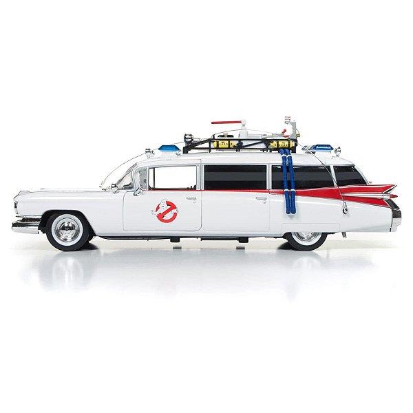 !SILVER SCREEN MACHINES - Carro miniatura Ghostbusters ECTO-1 1959 Cadillac -NOVO-
