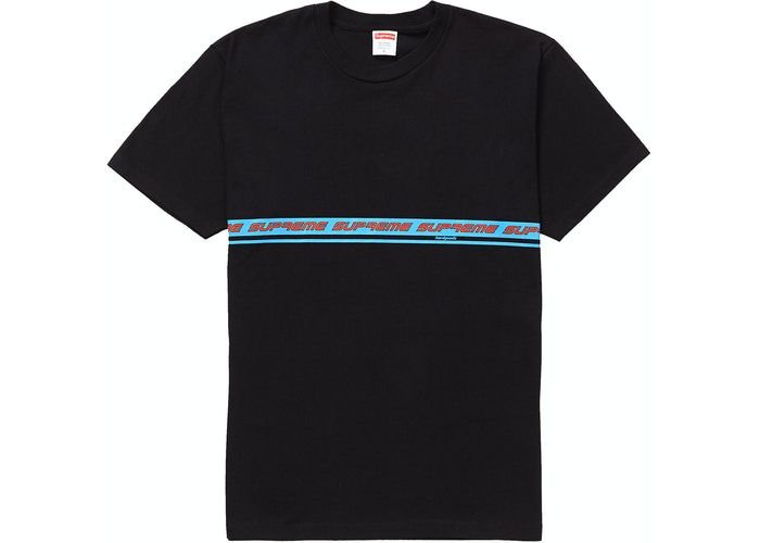 """SUPREME - Camiseta Hard Goods """"Preto""""  -NOVO-"""