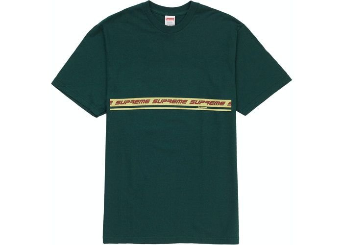 "SUPREME - Camiseta Hard Goods ""Verde""  -NOVO-"
