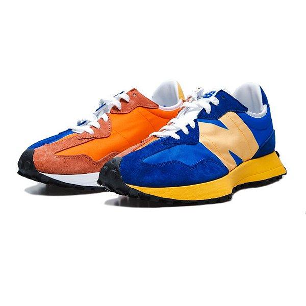 "NEW BALANCE - MS327LAA ""Blue Orange"" -NOVO-"