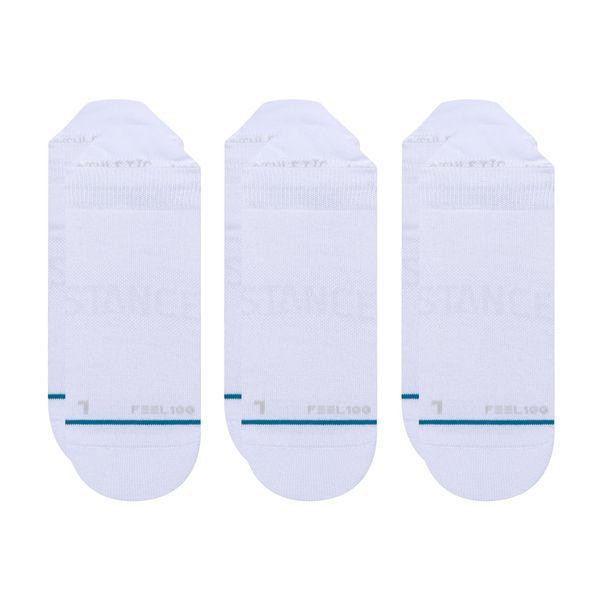 "STANCE - Meia Prime Tab (Pack com 3) ""Branco"" -NOVO-"