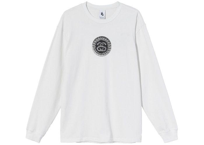 "NIKE x STUSSY - Camiseta Manga Longa SS Link ""Branco"" -NOVO-"
