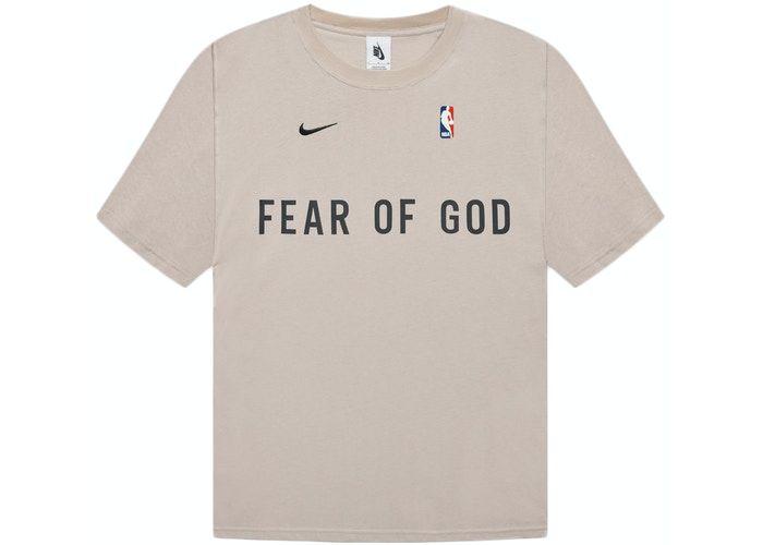 "NIKE x FEAR OF GOD - Camiseta Warm Up ""Oatmeal""  -NOVO-"