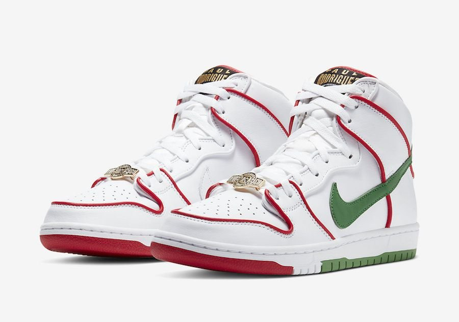 "NIKE x PAUL RODRIGUES - Dunk High ""Mexico"" -NOVO-"