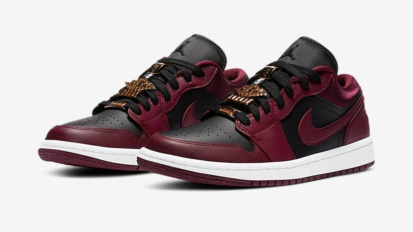 "!NIKE - Air Jordan 1 Low ""Dark Beetroot"" -NOVO-"