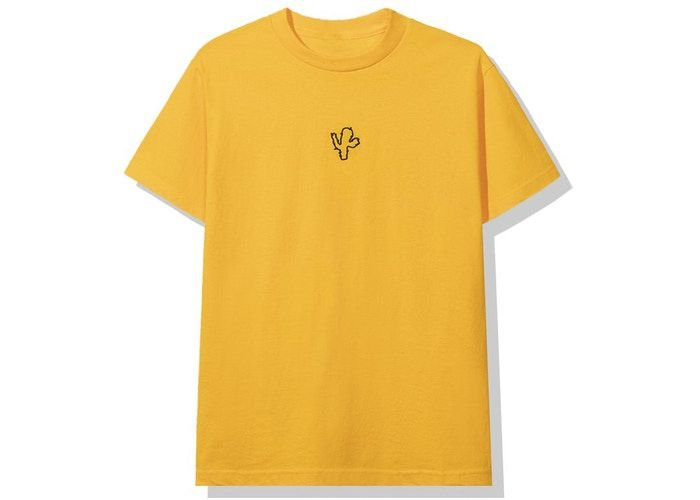 "ANTI SOCIAL SOCIAL CLUB x CPFM - Camiseta ""Amarelo"" -NOVO-"