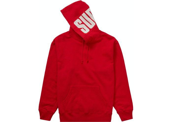 "!SUPREME - Moletom Rib Sweatshirt ""Vermelho"" -NOVO-"