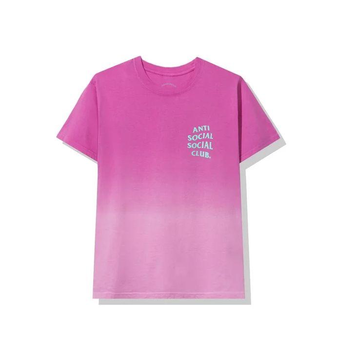 "!ANTI SOCIAL SOCIAL CLUB - Camiseta Gone ""Rosa"" -NOVO-"