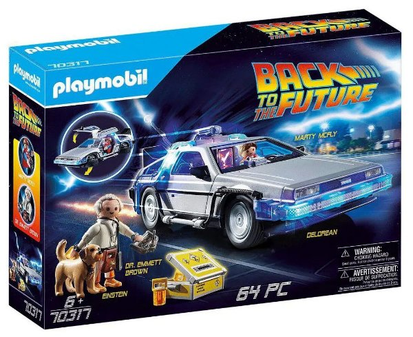 PLAYMOBIL - DeLorean: De Volta Para o Futuro (Back to the Future) -NOVO-