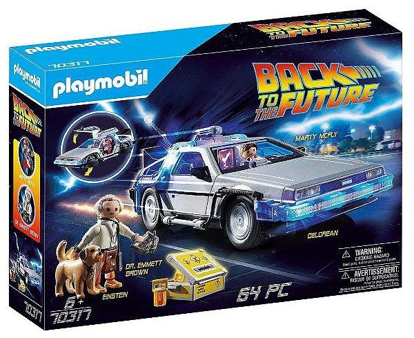 !PLAYMOBIL - DeLorean: De Volta Para o Futuro (Back to the Future) -NOVO-