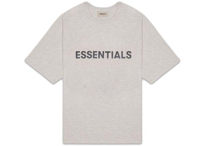 "FOG - Camiseta Essentials 3D Silicon Applique ""Cinza"" -NOVO-"