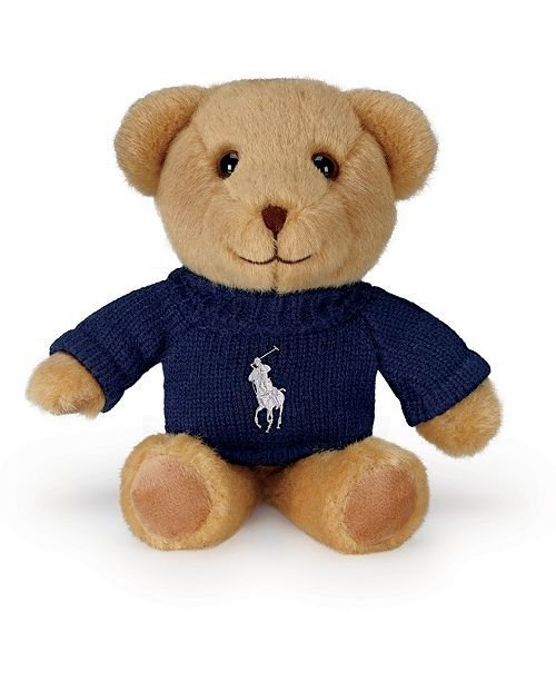 POLO RALPH LAUREN - Pelúcia The Polo Bear -NOVO-