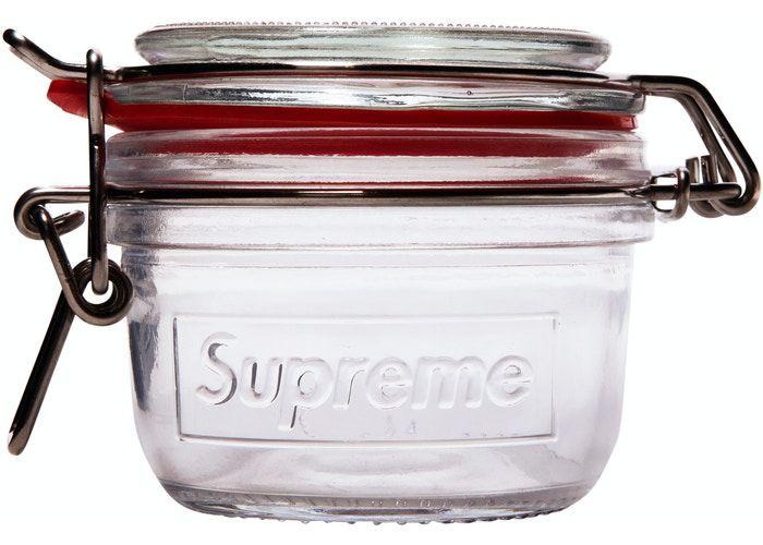 !SUPREME - Pote de Vidro Pequeno (1 Peça) -NOVO-